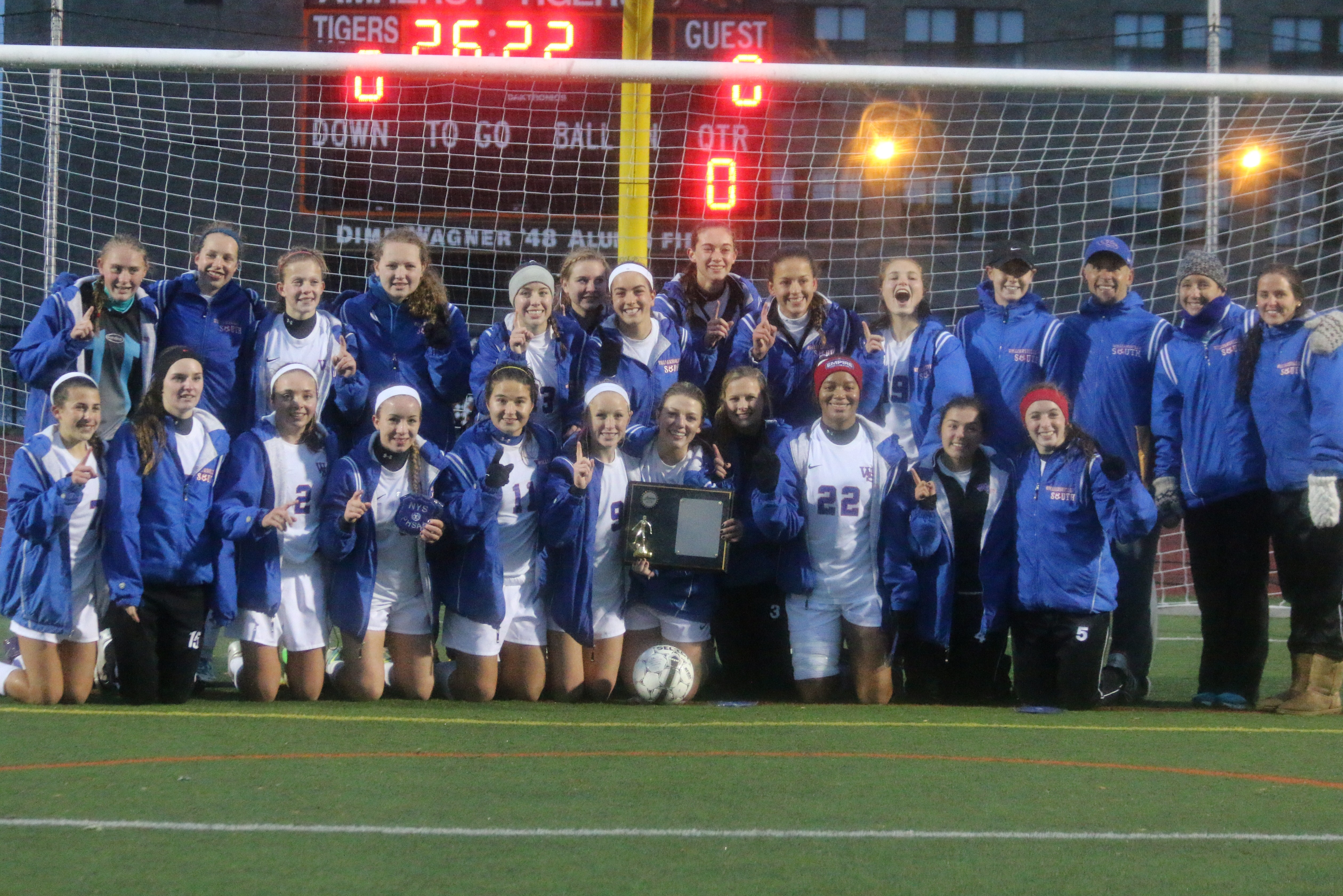 Champions fall 2013 sectional champions